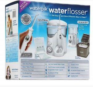 Waterpik Waterflosser Ultra & Nano Water Flosser + Travel Case Combo 2021 STOCK