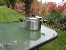 Saladmaster System 7 TP304-316 Surgical Stainless Steel 7 Qt Stockpot Dutch Oven