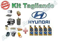KIT TAGLIANDO HYUNDAI IX35 1.7 CRDI OLIO ERG ONE 5W30 + FILTRI