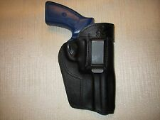 Ruger GP100,357 magnum, iwb, owb, ambidextrous leather revolver holster