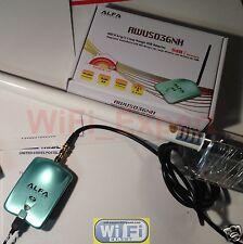 WiFi Antenna 8dBi Fiberglass + ALFA N Super Long Range Booster GET FREE INTERNET