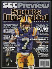 Tyrann Mathieu LSU Tigers Football SIGNED SEC Special Sports Illustrated NL COA!