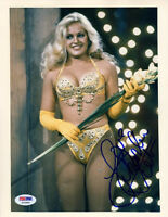 CHARLENE TILTON SIGNED AUTOGRAPHED 8x10 PHOTO LUCY EWING DALLAS PSA/DNA