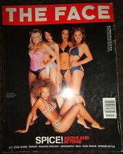 The Face 3/1997 Spice Girls Victoria Beckham Gina Gershon Prince David Duchovny