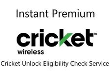 USA Cricket Wireless Premium Instant Unlock Eligibility Check Service