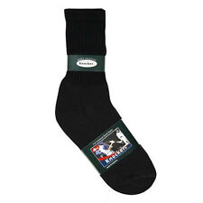 12 Pairs Men's Workboots Sports Thick Cotton Crew Socks 10-13 White Black Gray