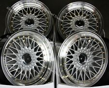 "17"" GR RS Alloy Wheels For Audi 90 100 80 Coupe Cabriolet Saab 900 9000 4x108"