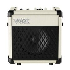 Vox MINI5 Rhythm Modeling 5-Watt Battery Powered Guitar Combo Amplifier Ivory