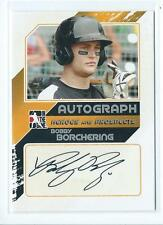 2011 ITG Heroes & Prospects Bobby Borchering Silver AUTO AUTOGRAPH RC