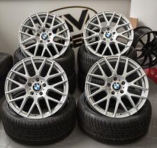 18 Zoll WH26 Alufelgen Silber für BMW 1er F20 E81 E82 E87 E88 3er E46 X3 Z4 ABE