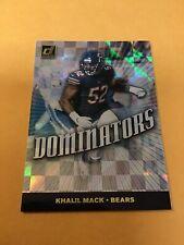 2019 Donruss Dominators Khalil Mack #DOM21  Bears Football