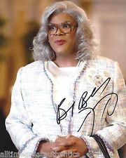 ACTOR TYLER PERRY SIGNED MADEA GOES TO JAIL 8X10 PHOTO A W/COA MADEA'S CHRISTMAS