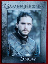 GAME OF THRONES - Season 6 - Card #35 - JON SNOW - Rittenhouse 2017