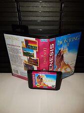 The Lion King II ( 2 ) Simba's Asian Tour Game for Sega Genesis! Cart & Box