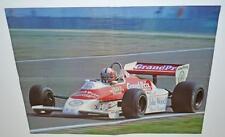 Antiguo cartel de deporte del motor-Grand Prix Revista coche de carreras.