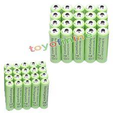 20x Aa 3000 Mah + 20xaaa 1800mah 1.2 v Ni-mh Batería Recargable De 2a 3a Verde Celular