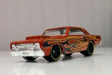 HOT WHEELS CAR. . HW FLAMES. . 68 DODGE DART 8 OF 10 1:64 scale diecast toy car