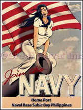 Join the Navy Homeport Subic Bay Philippines Canvas Print