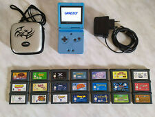 GameBoy Advance SP AGS-101 PAL + 21 giochi originale Nintendo game boy ags101