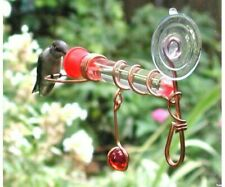 Window Bird Feeder - Window Wonder One Tube Feeder - Sehhwwh1