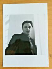 PHOTOGRAPHIE PHOTO ARGENTIQUE PORTRAIT GERARD GAROUSTE PAR BERNARD BAUDIN 1989