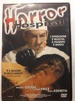 HORROR HOSPITAL FILM DI Anthony Balch (1973)  - nuovo e sigillato