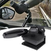 Black Vehicles Car Window Mount For Camera Monocular Telescopes Spotting Scope