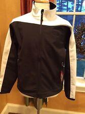 The North Face Cheroot Soft Shell Jacket Fleeced Lined TNF Black/TNF White XXL