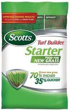 Turf Builder Starter Fertilizer Grass Seeds Lawn Garden Seedlings Water