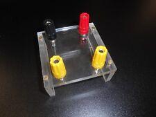 Terminals Component Box 4mm Banana Perspex Lab Electric Wiring Brixton Morris