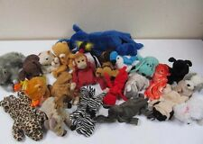 Vintage TY Animals Plush Soft Toys Job Lot of 23