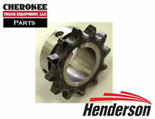 "Henderson 51863, 12T Sprocket, #40 1B 1/4"" Keyway, for FSH Spreaders"
