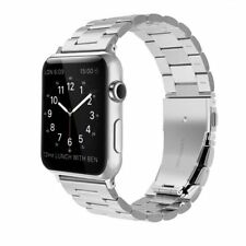 Simpeak Stainless Steel Band Strap for Apple Watch 38mm Series 1 Series 2 Series 3 - Silver