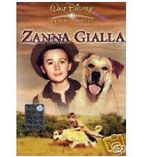 DISNEY DVD Zanna gialla - fuori catalogo con ologramma tondo