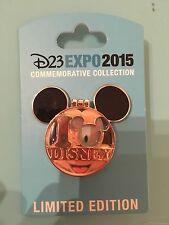 Disney D23 Expo I Mickey Disney Diamond Celebration LE 1500 Hinged Pin