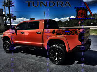 Toyota Tacoma Tundra Vinyl Decal Custom Graphic TRD Bed Stripe Kit