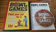 Bowl Games (DVD) Jessica Levy Katie K9 Riopel dog training feeding nutrition
