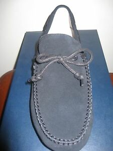 COLE HAAN MENS GRANT LTE 10 D Black Suede New In Box