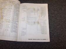 1979 Chevy Corvette Factory Electrical Wiring Diagram Manual Stingray 5.7L V8