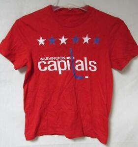 Washington Capitals Youth Size Small Short Sleeve T-Shirt A1 3026