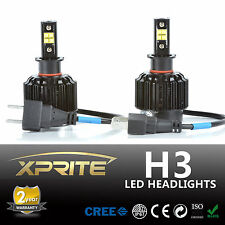 All-IN-ONE 80W H3 LED Headlight Conversion Kit - Replaces Halogen & HID Bulbs