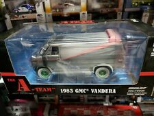 Greenlight The A-Team 1983 Gmc Van Weathered Version Green Machine Chase 1/24