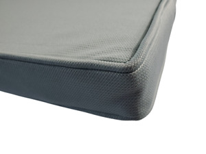 Mineral Blue Piano Bench Cushion Pad - Choose Size & Thickness