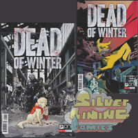 DEAD OF WINTER #1 Set of Two REG A + B VARIANT Starks Gabo Henderson ONI PRESS