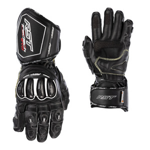 RST 2021 Tractech Evo 4 Motorcycle Race Track Gloves Kangaroo Leather Black 2666