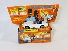 Corgi réf 336 Toyota 2000GT James Bond neuf en boîte