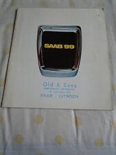 Saab 99 L & EMS range brochure 1974