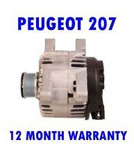 PEUGEOT 207 1.4 1.6 2006 2007 2008 2009 2010 2011 - 2015 RMFD ALTERNATOR
