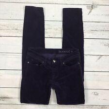 Blanknyc Corduroy Skinny Pants Size 26 Womens Jeans Purple Stretch