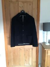 Toast black wool/cashmere jacket XL